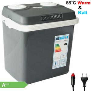 VAIKO® 32 L Kühlbox 12V 230V Camping Kühlschrank Thermoelektrische Warmhaltebox