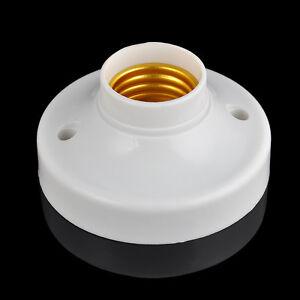 E27-Light-Bulb-Holder-Base-Fitting-ES-Edison-Screw-Cap-Socket-White-Lamp-Fixing