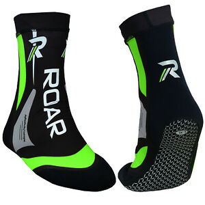 ROAR-Fight-Training-MMA-Grip-Socks-Boxing-Foot-Ankle-Braces-Supports-Shoes-Pad