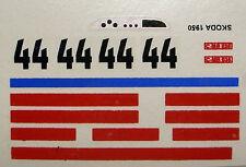 decals 1/43: Skoda Le Mans 1950 N°44