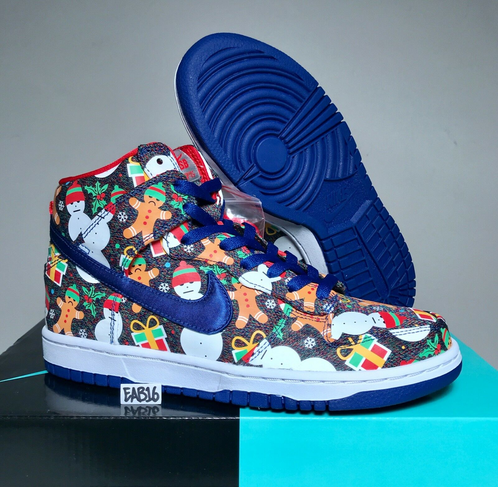 Nike Dunk High SB QS GS Concepts Ugly Sweater AO1559 446 Comfortable Special limited time