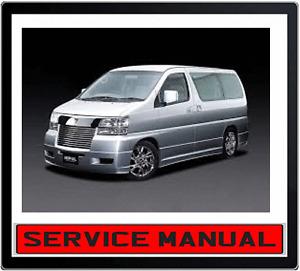 NISSAN-ELGRAND-E50-97-02-3-0L-3-3L-3-5L-V6-ENGINE-REPAIR-SERVICE-MANUAL-in-DVD