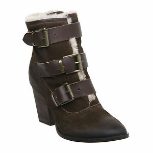 PIED-A-TERRE-OHANIAN-MULTI-STRAP-LEATHER-ANKLE-BOOTS-LADIES-EX-DISPLAY