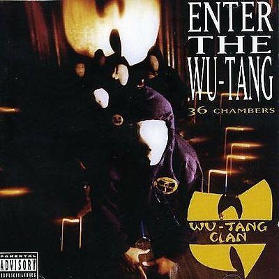 Enter the Wu-Tang (36 Chambers) [Bonus Track] [PA] by Wu-Tang Clan (CD,...