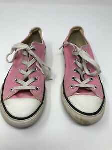 Details about Girls Converse All Star Chuck Taylor Youth Size 3 Low Top Shoes Pink