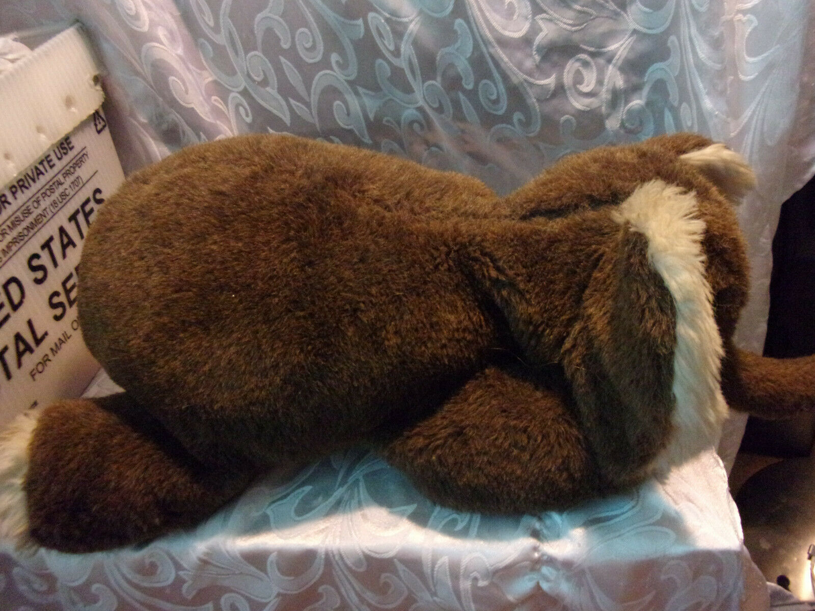 Toyland Made in Israel Brown Elephant 27  Plush Soft Toy Stuffed Animal