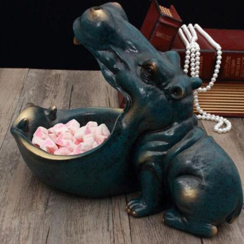Hippopotamus statue decoration resin artware sculpture statue home decoration/_BJ