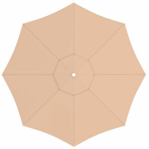 Sonnenschirm-Bespannung-paragrandi-Gartenschirm-Grossschirm-5-m-rund-creme-B-Ware