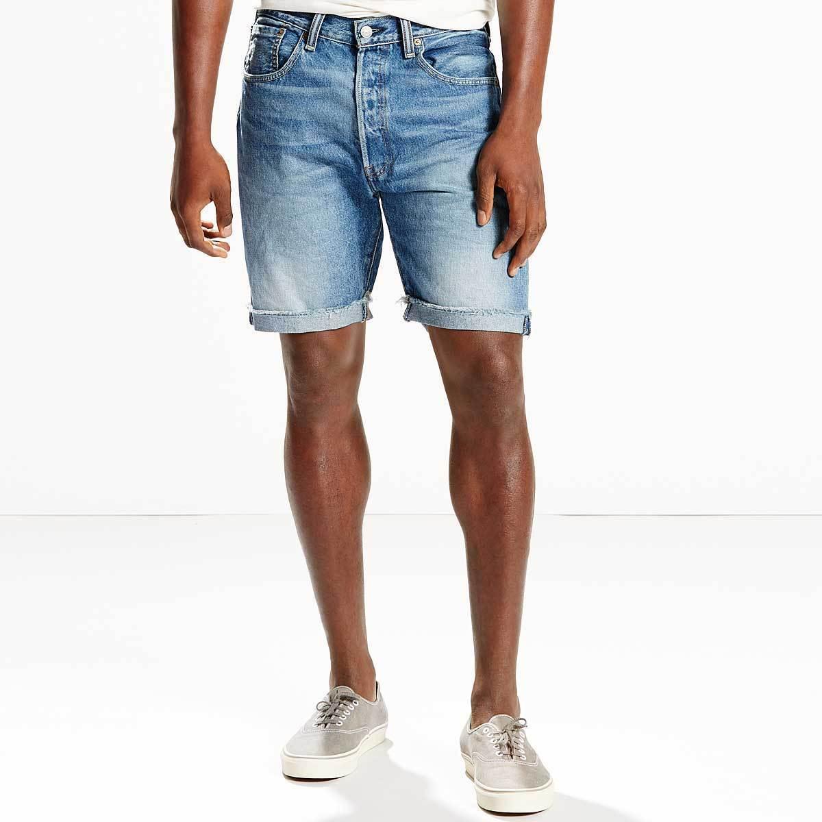 NWT Men's Levi's 501 CT Denim Shorts Carrier Ace Gower 236790009