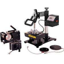 15X20CM 5 IN 1 Interchangeable Combo Heat Press Sublimation Transfer Machine