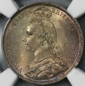 1887-NGC-MS-64-Victoria-6-Pence-Shield-Great-Britain-Silver-Coin-19072602C