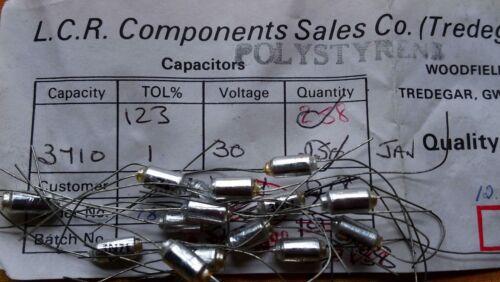 LCR FSC//P 3710pF 1/% 30 V Polystyrène Condensateurs