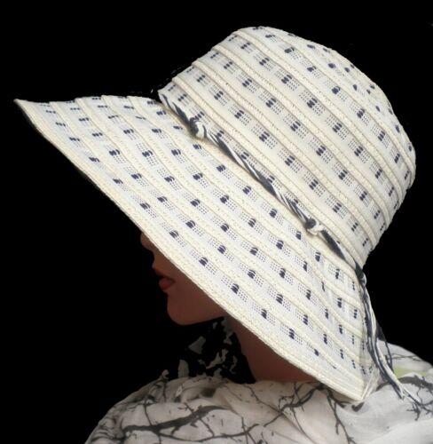 Femmes Chapeau Casquette Reisehut Kofferhut Soleil Protection solaire pliable vacances jardin