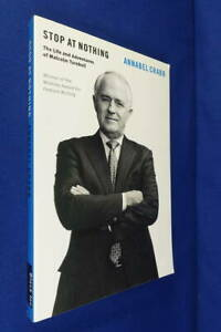Signed-Book-STOP-AT-NOTHING-Annabel-Crabb-LIFE-amp-ADVENTURES-OF-MALCOLM-TURNBULL