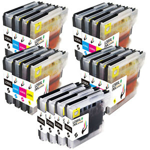 Compatible-LC61-Ink-Set-Lot-for-Brother-MFC-250C-MFC-295CN-MFC-6490CW-MFC-495CW