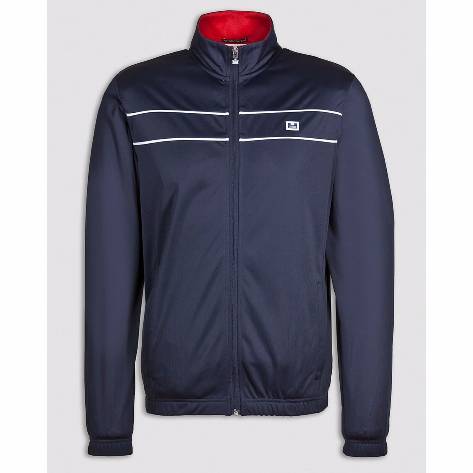 - 30% WEEKEND OFFENDER FELPA BAIN TOP XXL GIACCA ACETATO FULL ZIP RETRO