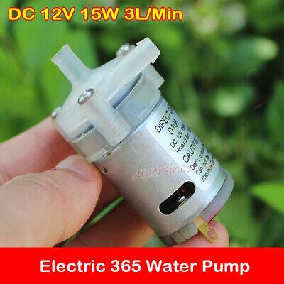 DC 12V~24v 15W Brushless Water Pump Submersible Circulation Centrifugal Pump