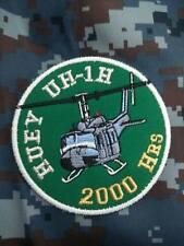 HUEY UH-1H 2000 HRs ROYAL THAI AIR FORCE PATCH อาร์มกองบิน2 RTAF PATCH