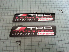 toyota racing development sticker decal celica supra hilux
