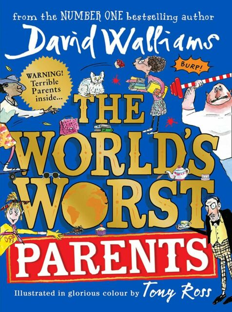 The World's Worst Parents Hardcover 312 Pages English New