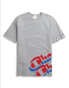 Champion-Oxford-Grey-Wrap-Around-Logo-T-Shirt