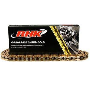 RHK Mx 520 120L Gold Motocross Dirtbike Enduro Offroad O-Ring Heavy Duty Chain