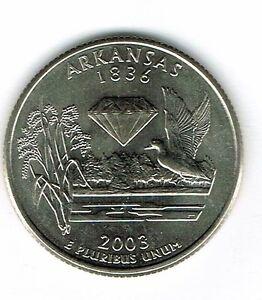 2003 P  Maine   State Quarter  **BRILLIANT UNCIRCULATED**