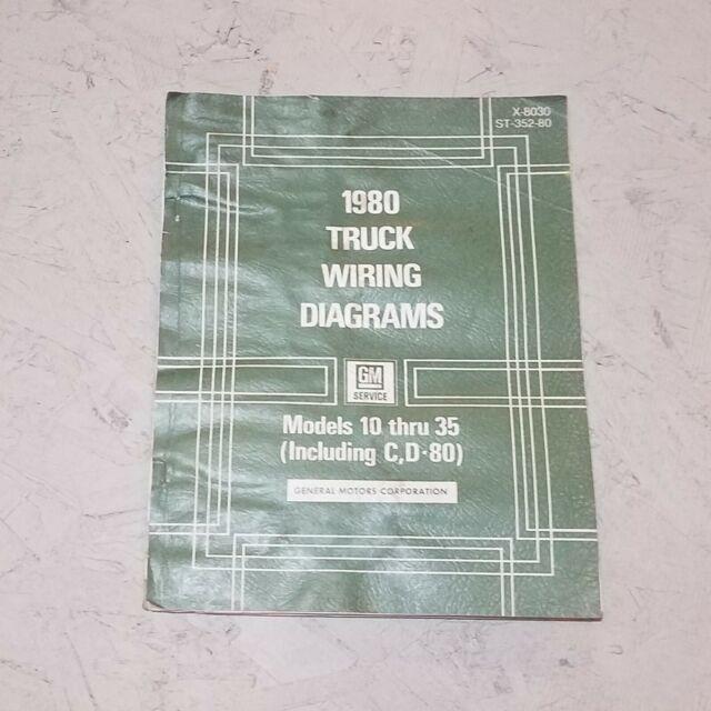 1980 Chevy C10 C20 C30 K10 K20 K30 Truck Electrical Wiring