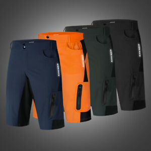 Men/'s Cycling Baggy Shorts Padded MTB Mountain Bike Racing Short Pants Bicycle