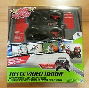 Image Is Loading AIR HOGS HELIX VIDEO DRONE QUADCOPTER HIGH SPEED