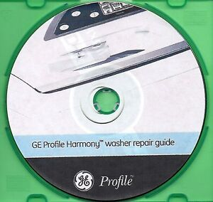 Ge Profile Harmony Washer Service And Repair Manual Book