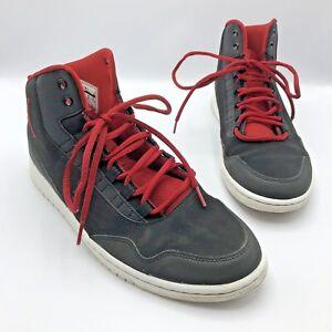 timeless design ca96d bb3ec Image is loading Nike-Air-Jordan-Executive-Bred-Men-Black-Red-