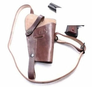 Details about Military Shoulder Holster for Colt 1911 Government 45  Automatic WWI Repro GL0108