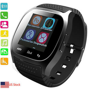 Bluetooth Smart Watch Wearable Smartwatch for Android Samsung Galaxy