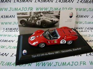 MAS1S-1-43-LEO-models-MASERATI-collection-tipo-63-24H-Du-Mans-1961-VACCARELLA