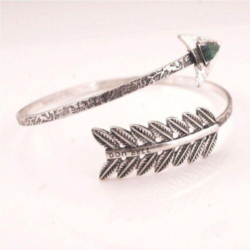 Chic Good Upper Arrow Armlet Jewelry Bangle Cuff Open Bracelet Vintage Arm