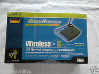 Linksys WUSB54GS (0745883562244) Wireless Adapter Wireless Adapters