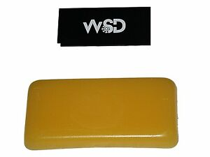 Ski Snowboard hot Wax bar bulk yellow universal 1 lbs with bonus wax scraper