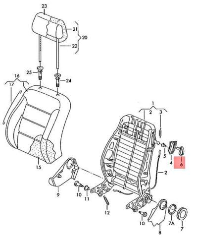 informafutbol.com Seats Automotive Genuine VW SEAT Beetle handle ...