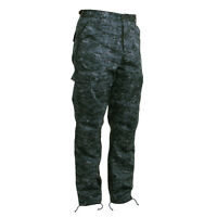 Digital Midnight Blue Camo Bdu Cargo Pants Titans Chargers Bears Ole Miss Giants