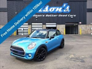 2016 MINI Cooper 3-Door Hatchback - Manual, Leatherette, Navigation, Dual-Panel Sunroof & Much More!