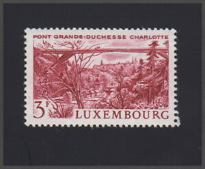Luxembourg Luxembourg Pont Charlotte 1966