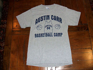 a8b9f39c6 Austin Carr Basketball Camp Gray T-Shirt Adult SMALL Cleveland ...