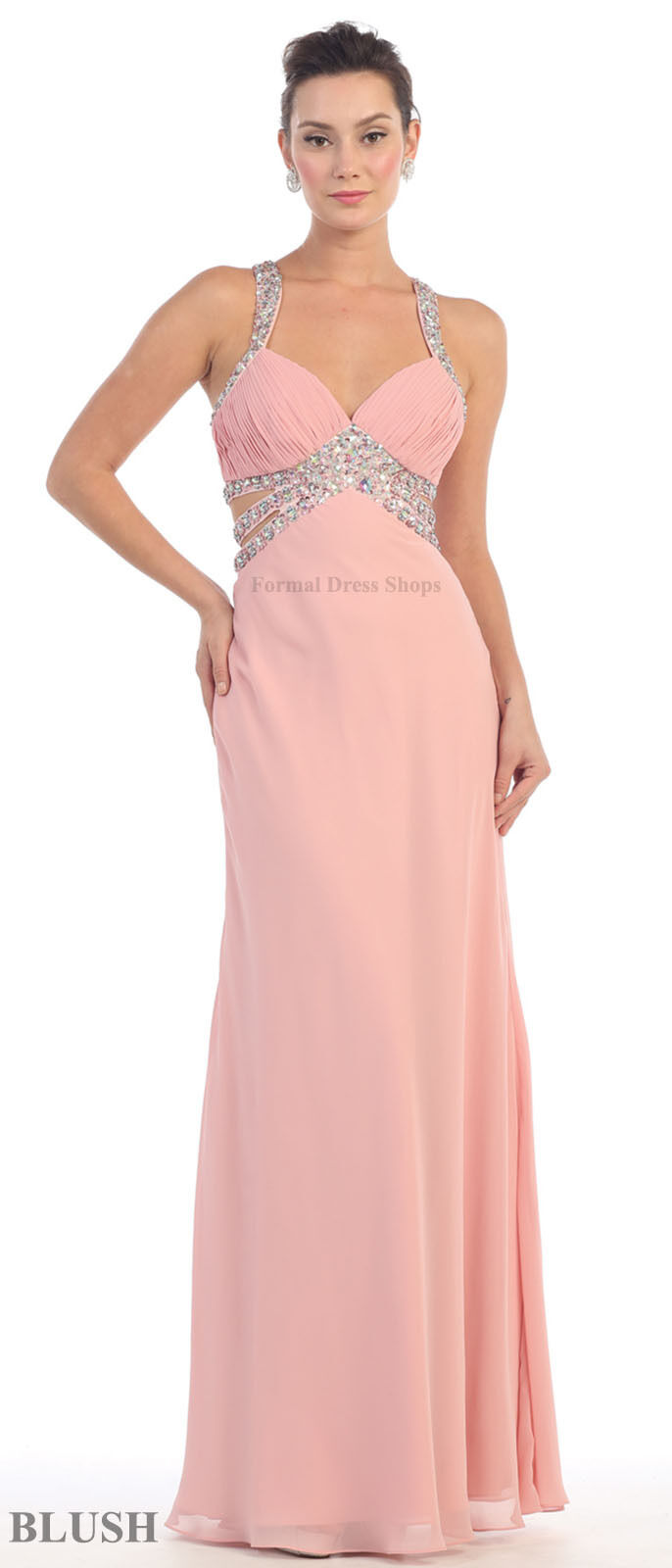 SALE !! SEXY PROM DRESS UNDER $100 EVENING SEMI FORMAL RED ...