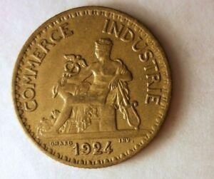 1924-France-FRANKENSTEIN-Excellent-Piece-de-monnaie-France-Corbeille-10