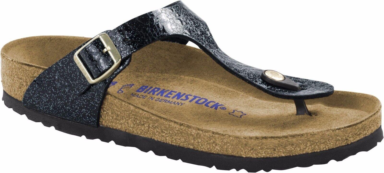Birkenstock Gizeh Myda 35-43 Night Weichbettung Größe 35-43 Myda Fußbett normal 7989b5