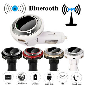 Wireless-BT-Auto-Radio-KFZ-Adapter-FM-Transmitter-LED-Mp3-USB-Handsfree