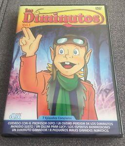 LOS-DIMINUTOS-THE-LITTLES-VOLUMEN-1-1-DVD-175-MIN-7-CAPITULOS-NEW-SEALED