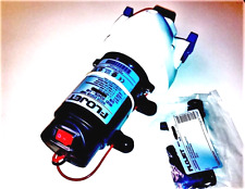 FLOJET LARGE 12VDC WATER PUMP - ON/OFF POWER SWITCH ON BOARD --- FULL KIT