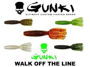 Plastique-Souple-Appat-GUNKI-Lures-10-cm-4-034-Medusa-Predator-agres-de-peche-bass-perche